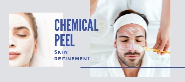 Chemical peel skin refinement