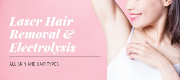 Laser hair removal electrolysis